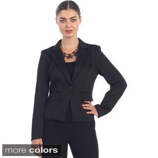 Hadari Women's Single-button Blazer