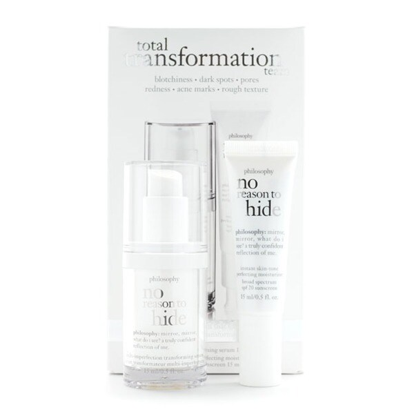 Philosophy No Reason To Hide Total Transformation Team 2-piece Gift Set