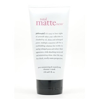 Philosophy Total Matteness Pore Minimizing 5-ounce Cleanser and Mask