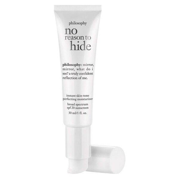 Philosophy No Reason to Hide Instant Skin Tone 1-ounce SPF 20 Medium Moisturizer