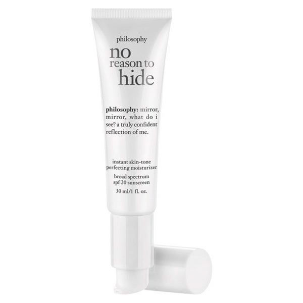 Philosophy No Reason To Hide Instant Skin Tone 1-ounce Moisturizer SPF 20 Light