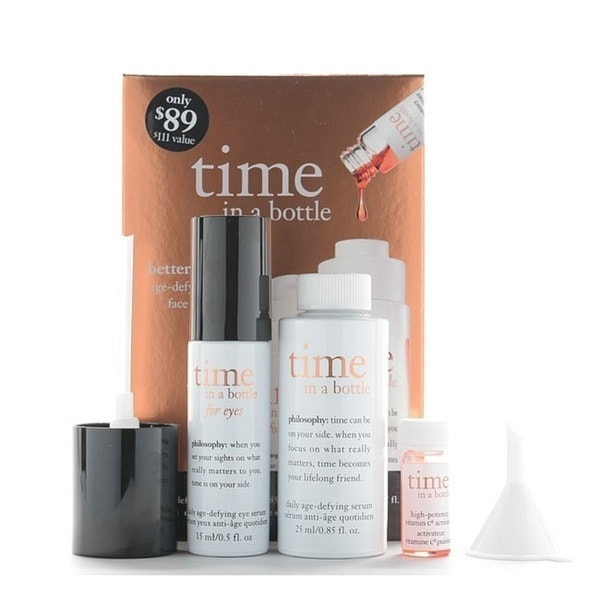 Philosophy Time in A Bottle Age Defying Serum 3-piece Gift Set