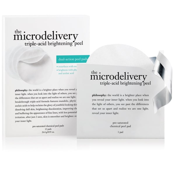 Philosophy The Microdelivery 0.93-ounce Dual-Action Peel Pad