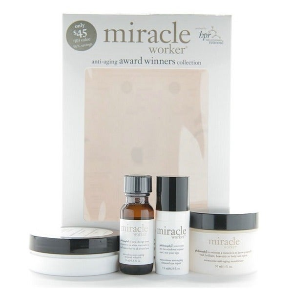 Philosophy Miracle Worker Anti-aging Collection 4-piece Gift Set