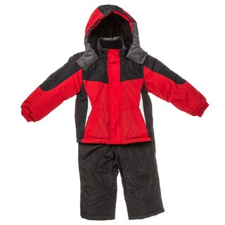 Northpoint Boys Red Two-piece Snowsuit (Size 4-7)