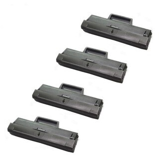 Toner Cartridge for Samsung MLT-D101 XAA Toner SCX-3405FW SF-760P ML-2165W (Pack of 4)