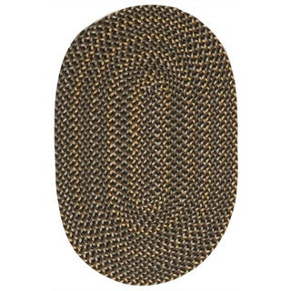Monticello Sandstone Braided Indoor / Outdoor Area Rug (7' x 9')