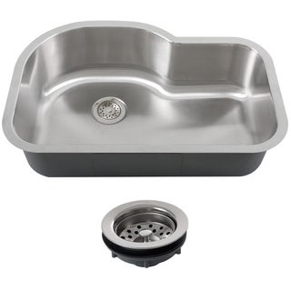 Phoenix L8BG-16G-REG Stainless Steel Undermount Single Bowl Kitchen Sink