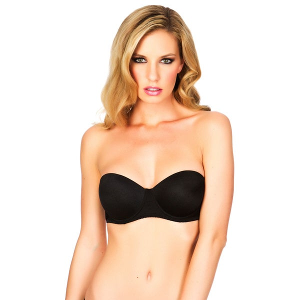 Black Fuchsia Women's 5-way Essential Bra