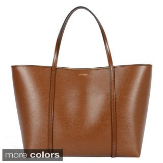 Dolce & Gabbana Dauphine Calfskin Escape Bag with Matching Leather Pouch
