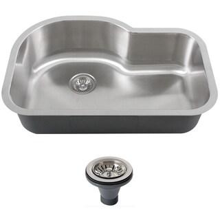Phoenix L8BG-16G-DEL Stainless Steel Undermount Single Bowl Sink (32 inch)