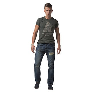 Simple Living High Thinking Jeans Men's 'Jonathan' Dark Blue Slim-fit Jeans