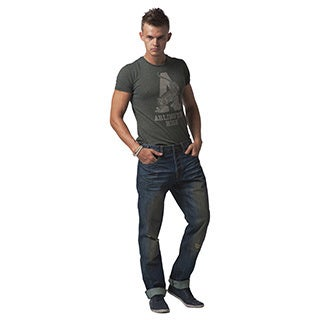 Simple Living High Thinking Jeans Men's Medium Blue Moroccan Wash Jeans