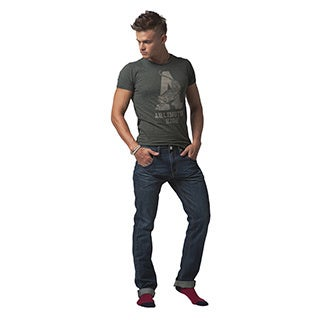 Simple Living High Thinking Jeans Men's 'New England' Dark Blue Natural Jeans