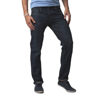 Simple Living High Thinking Jeans Men's 'Friday's' Dark Indigo Splatter Jeans