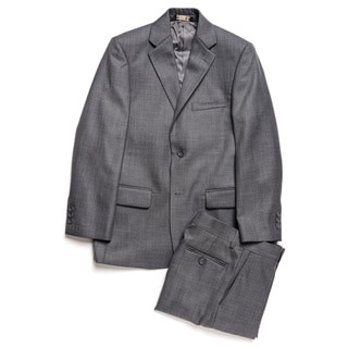 Caravelli Junior Boys' Grey 2-piece Suit