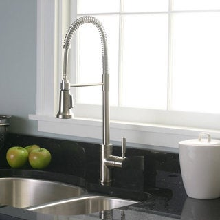 Premier Essen Pull-Down Brushed Nickel Kitchen Faucet