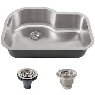 Phoenix L8BG-BASK-DEL Stainless Steel Undermount Single Bowl Kitchen Sink
