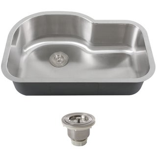 Phoenix L8BG-16G-BASK Stainless Steel Undermount Kitchen Sink