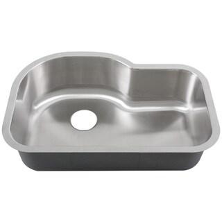 """Phoenix L8-BG 32"""" Stainless Steel Undermount Kitchen Sink"""