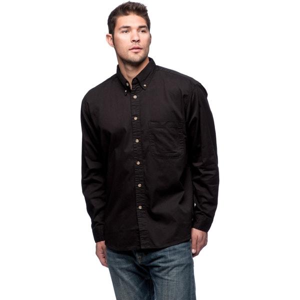 Sierra Pacific Men's Twill Cotton Long Sleeve Shirt