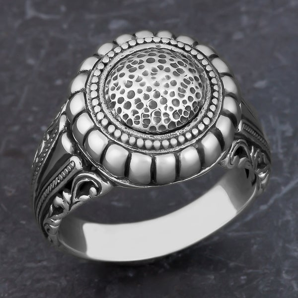 Sterling Silver 'Balinese Art' Cawi Ring (Indonesia)