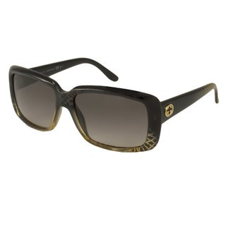 Gucci Women's GG3575 Rectangular Sunglasses