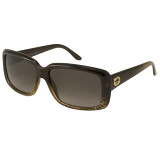 Gucci Women's GG3575 Rectangular Sunglasses