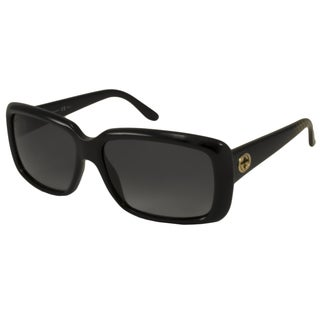 Gucci Women's GG3575 Polarized/ Rectangular Sunglasses