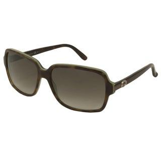 Gucci Women's GG3583 Rectangular Sunglasses