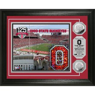 The Ohio State University 125th Anniversary Commemorative Silver Coin Photo Mint