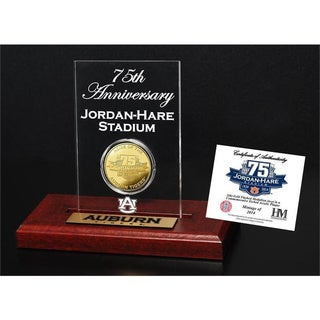 Auburn Jordan-Hare Stadium 75th Anniversary Gold Flip Coin