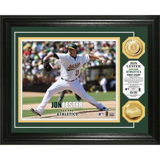 Jon Lester First Start Gold Coin Photo Mint