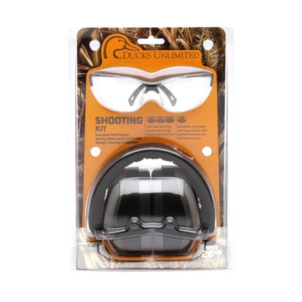 Ducks Unlimited Earmuff and Glasses
