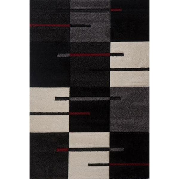 Chessboard Milano Turkish Area Rug (6' x 8')