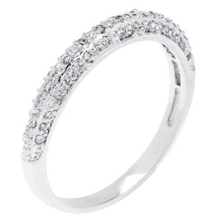 Simon Frank Collection 3-row Micro Pave CZ Band