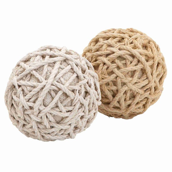 Decorate Jute Balls (Set of 2)