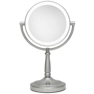 Zadro 9-inch Next Generation LED Cordless Double-sided Round Vanity Mirror