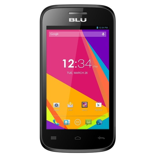 BLU Dash JR 4.0 K D143k Unlocked GSM Dual-SIM Android Cell Phone