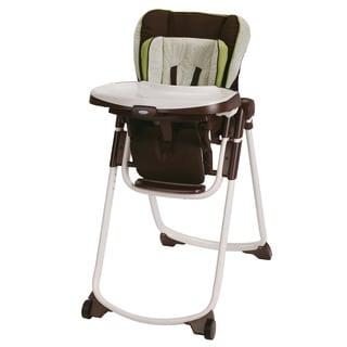 Graco Slim Spaces Highchair in Go Green
