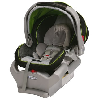 Graco SnugRide 35 Classic Connect Infant Car Seat in Dotti's Green