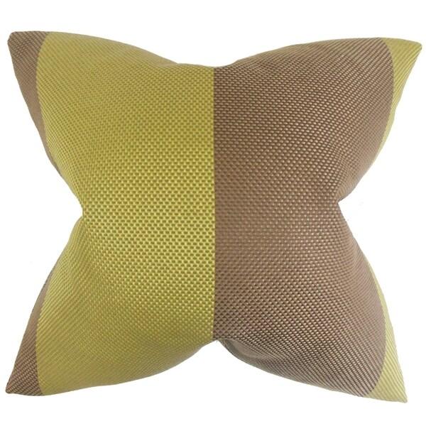 Calais Seagrass Feather Filled Throw Pillow