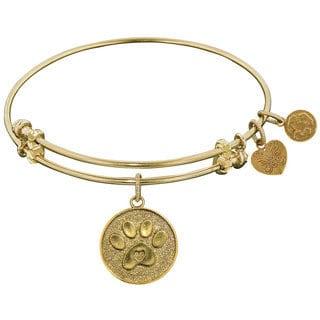 Angelica Paw Charm Bangle Fashion Charm Bangle Bracelet