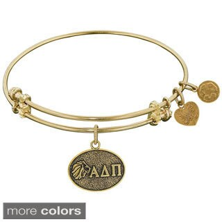 Angelica Alpha Delta Pi Fashion Charm Bangle Bracelet