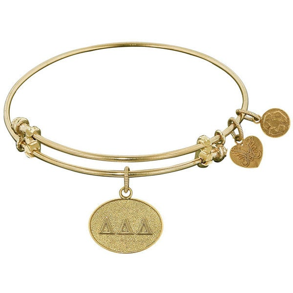 Angelica Delta Delta Delta Charm Bangle