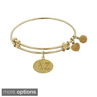 Angelica Delta Zeta Fashion Charm Bangle Bracelet