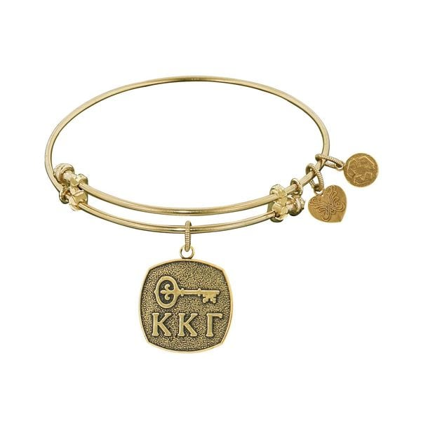 Angelica Kappa Kappa Gamma Fashion Charm Bangle Bracelet