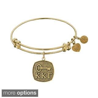 Angelica Kappa Kappa Gamma Fashion Charm Bangle Bracelet