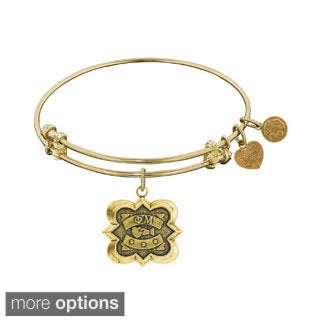 Angelica Phi Mu Fashion Charm Bangle Bracelet