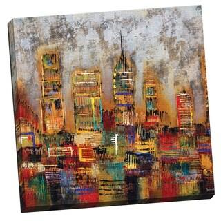Portfolio Canvas Decor City Lights Gallery-wrapped Canvas